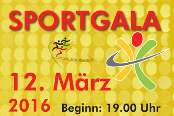 Sportgala am 12. März 2016 in Soest