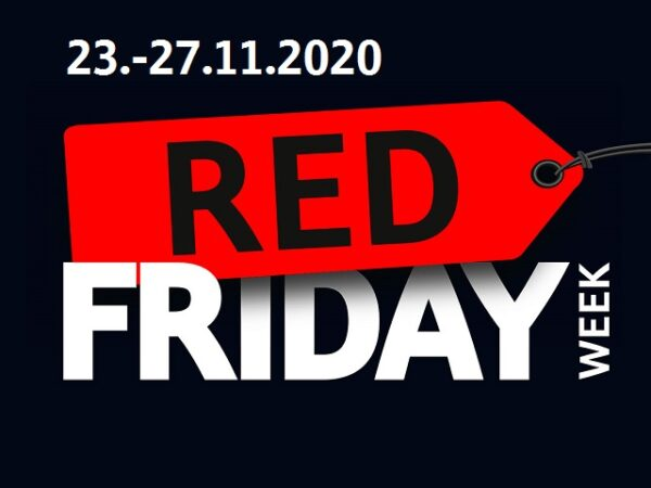 Red Friday Week – vom 23.11. bis 27.11.2020