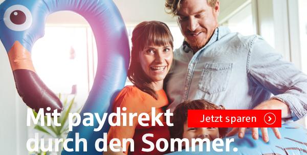 Sommer-Rabatte bei paydirekt